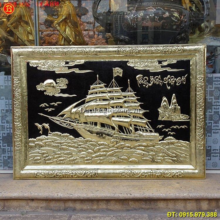 Tranh Thuận Buồm Xuôi Gió cỡ nhỏ dài 88cm