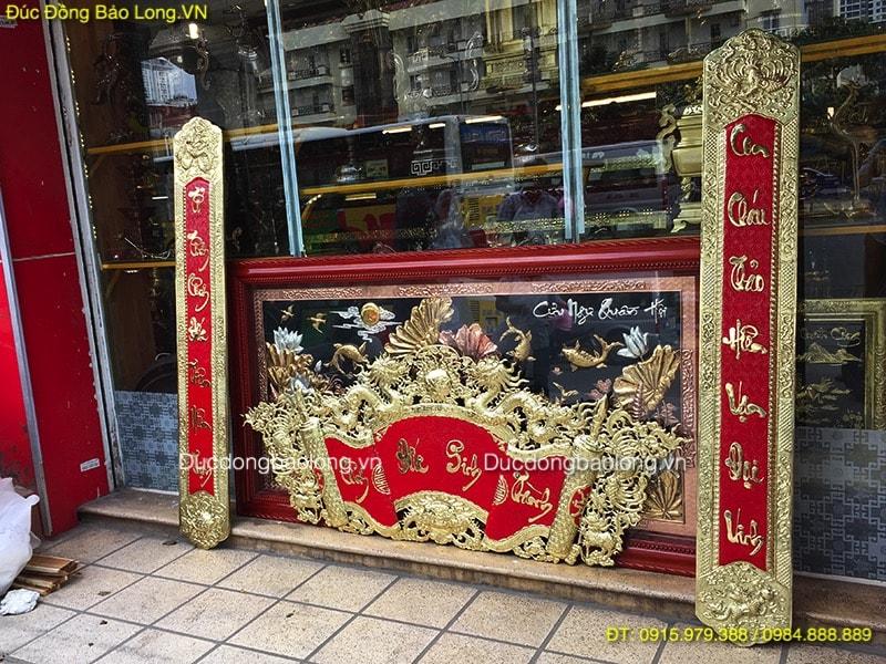 Cuốn Thư Câu Đối 1m75 cho khách hàng ở Lâm Đồng