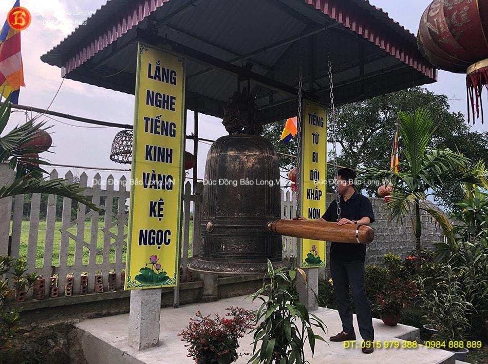 công đức cúng tiến chuông đồng cho chùa