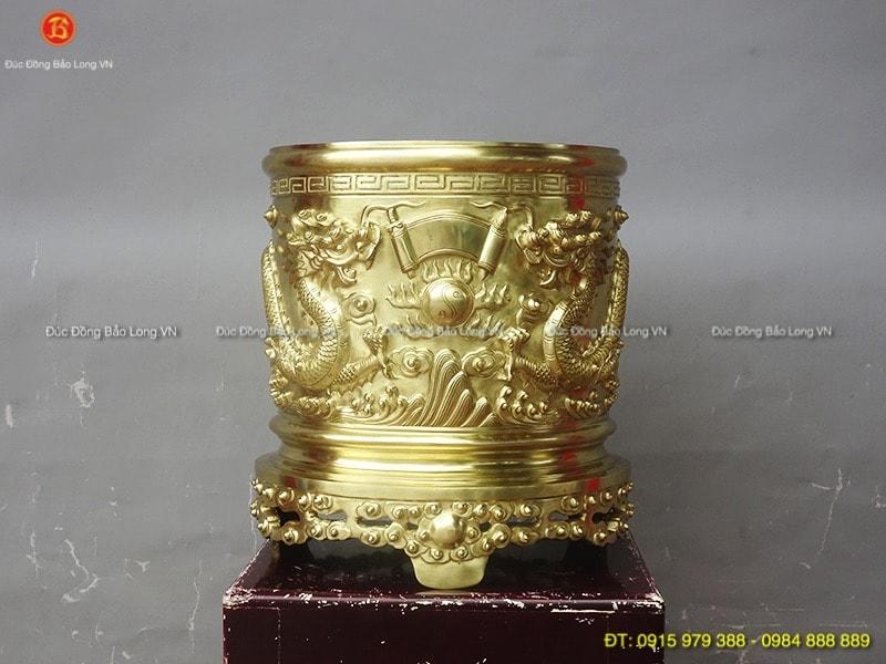 bát hương bằng đồng catut