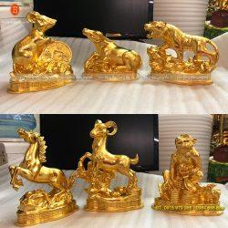 12 con giáp dát vàng 9999