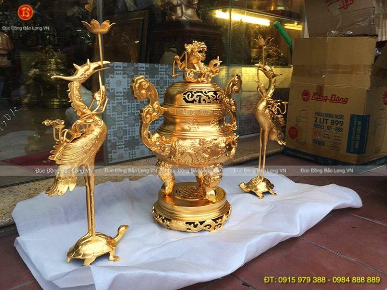 đồ thờ bằng đồng tại Ninh Bình, đồ thờ bằng đồng rất bền