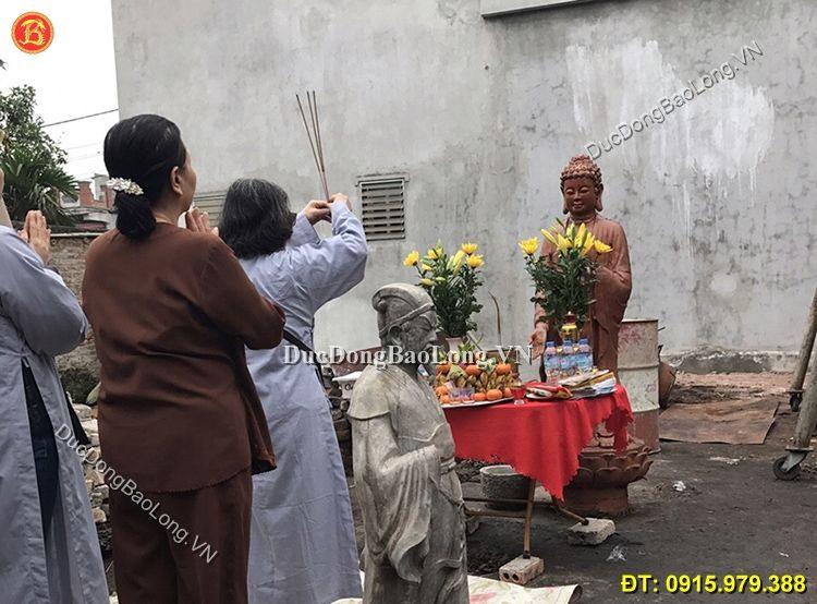 đúc tượng Phật bằng đồng tại Đắk Nông đẹp