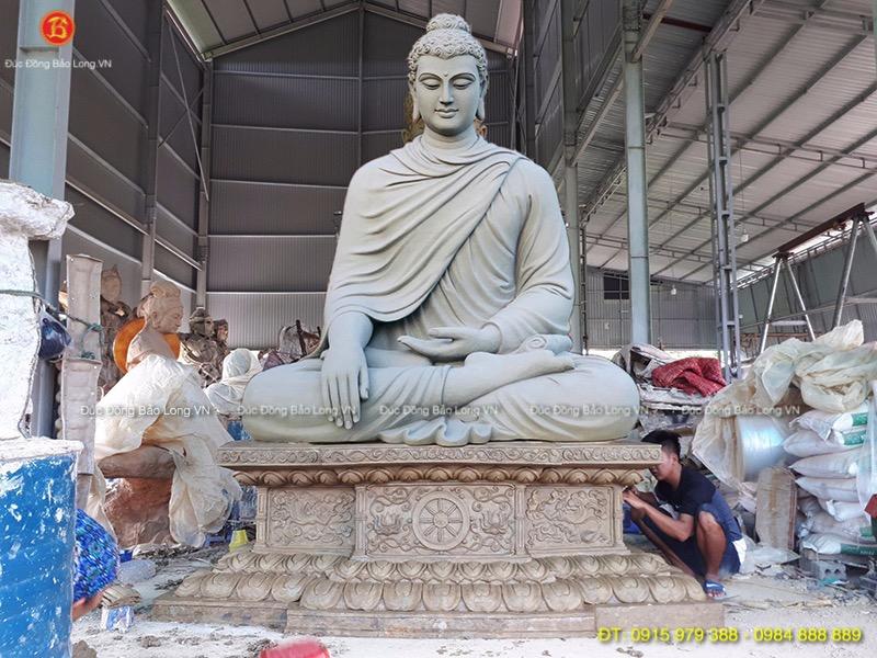 Đúc tượng Phật bằng đồng tại Ninh Bình, mẫu đúc tượng Phật Thích Ca