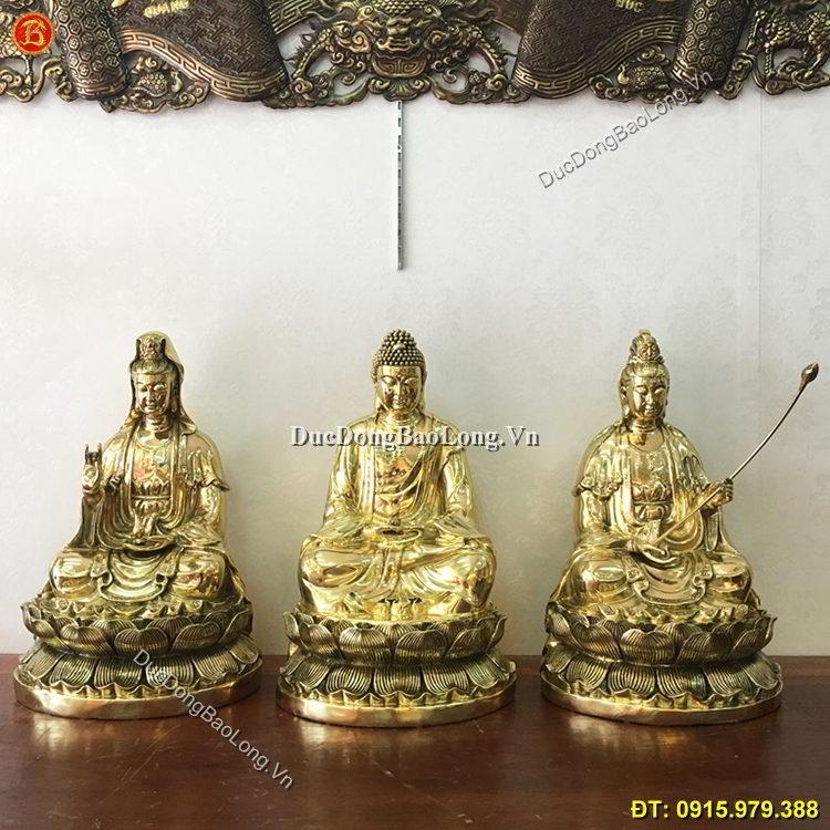 Cơ sở đúc tượng Phật bằng đồng tại Thái Bình