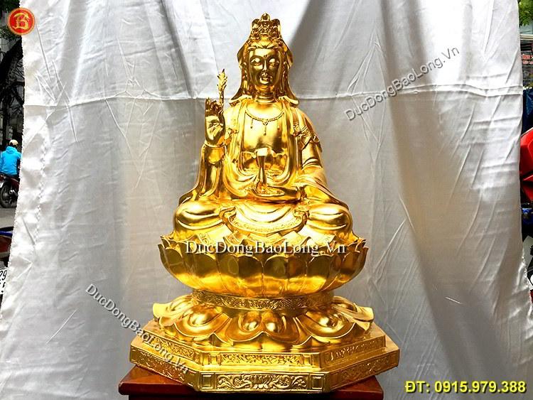 Đúc tượng Phật bằng đồng tại Thái Bình, tượng Phật Quán Thế Âm