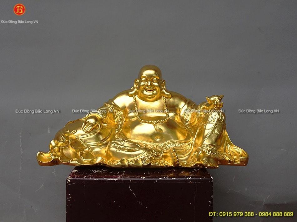 Đúc tượng Phật bằng đồng tại Vĩnh Long, tượng Phật Di Lặc