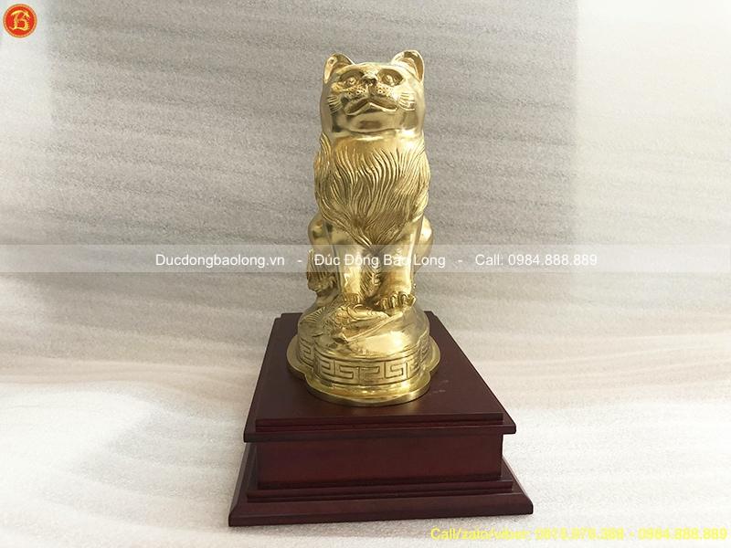 giá tượng con mèo phong thuỷ