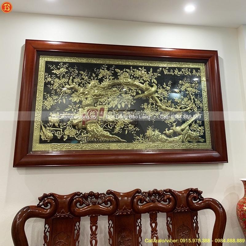 Tranh Vinh Hoa Phú Quý 2m17, cao 1m27