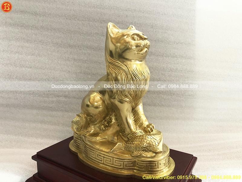 tượng con mèo phong thuỷ