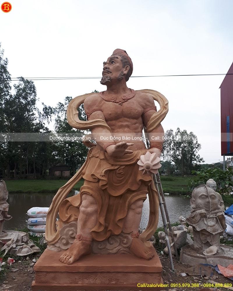 tượng kim cang hộ pháp 7m