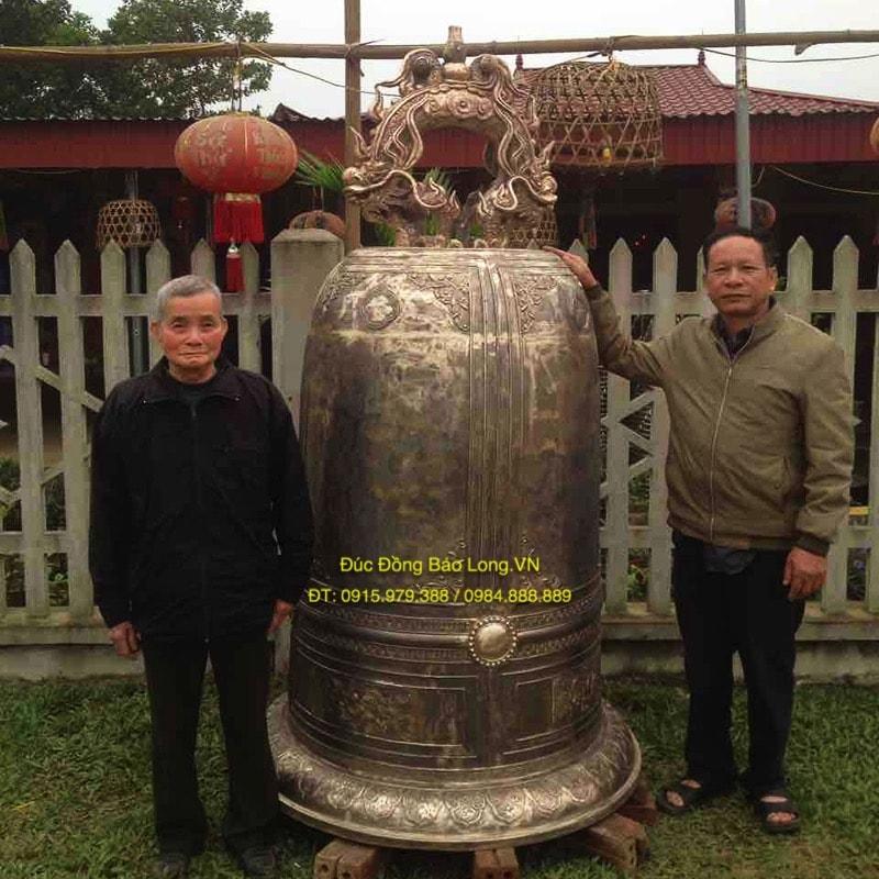 Đúc chuông đồng chất lượng tại Bắc Ninh