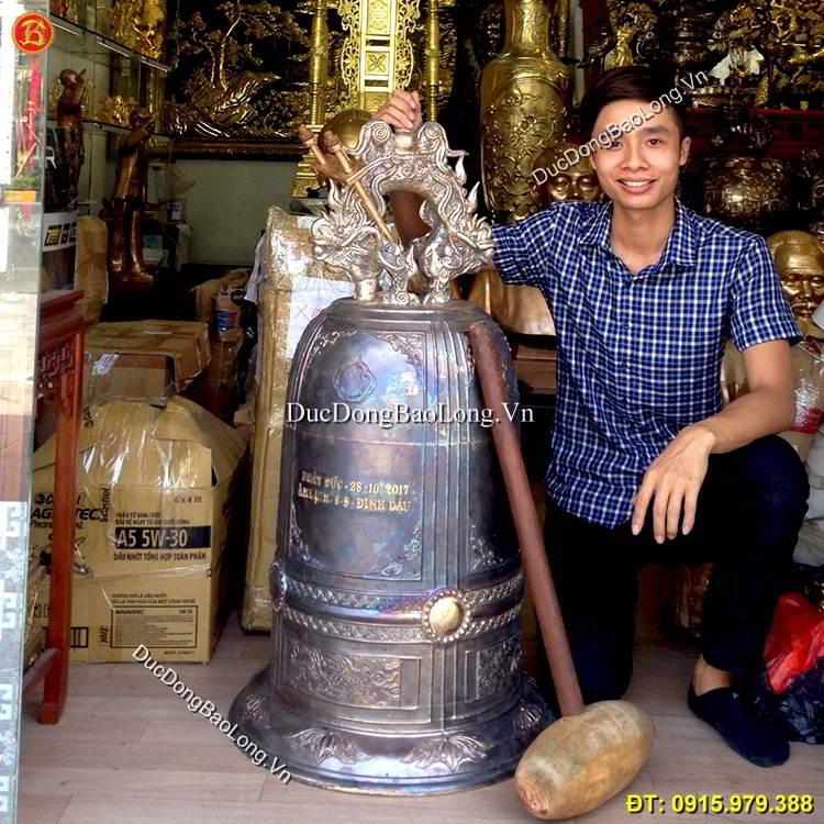 Đúc chuông đồng tại Bắc Ninh