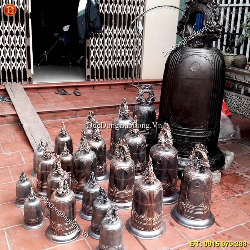 Đúc chuông đồng tại Bắc Ninh theo yêu cầu