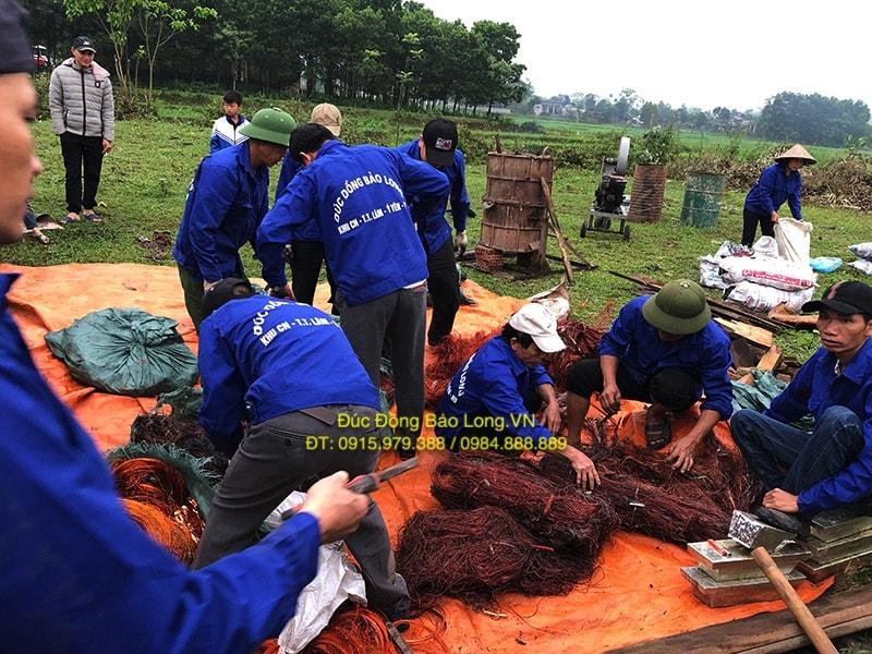Nguyên liệu đúc chuông đồng tại Tây Ninh