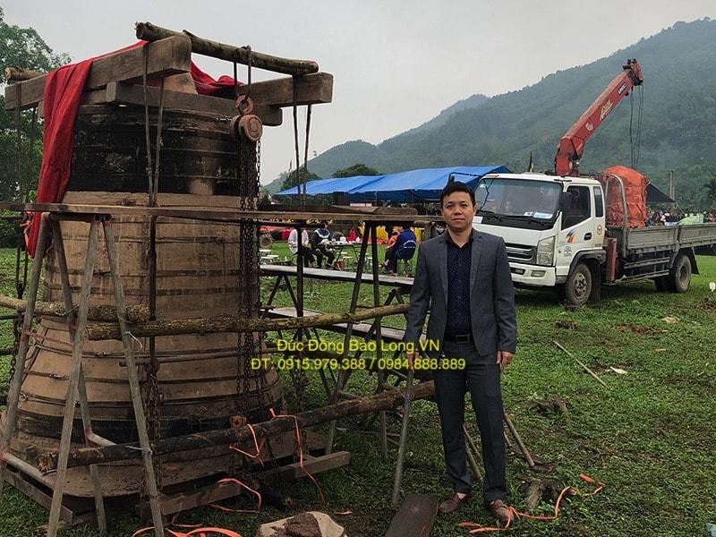 đúc chuông đồng tại Quảng Ninh