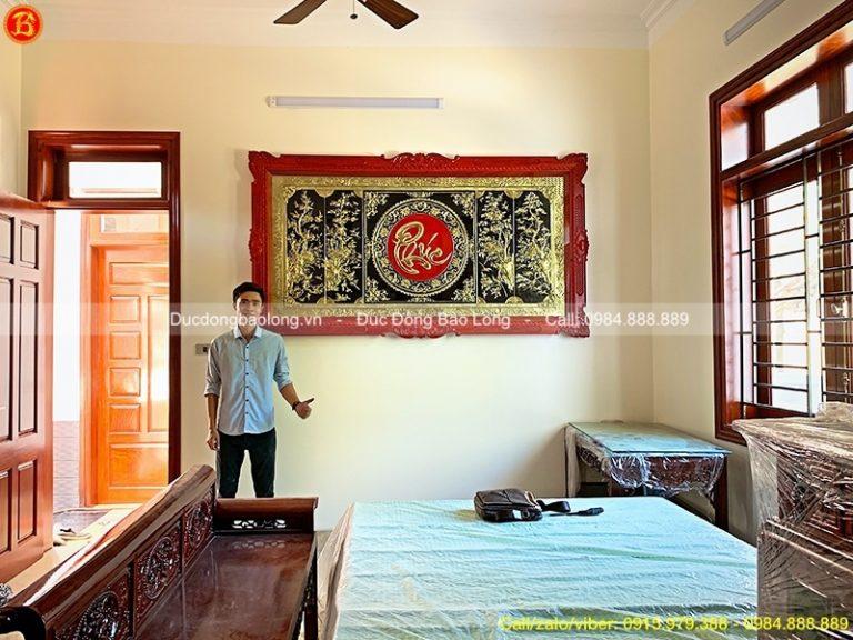 Mua tranh đồng tại Điện Biên