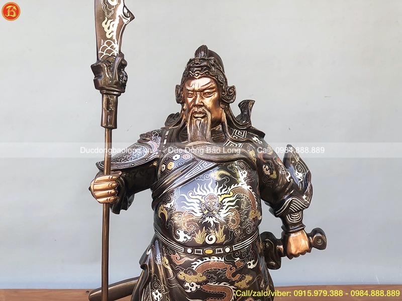 tượng quan công 61cm