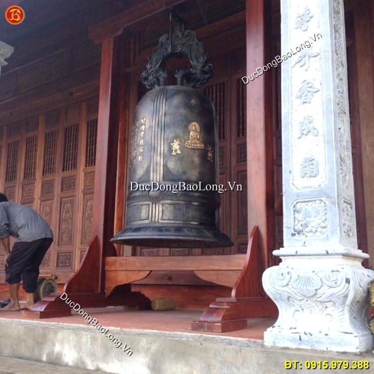 Chuông chùa 800kg