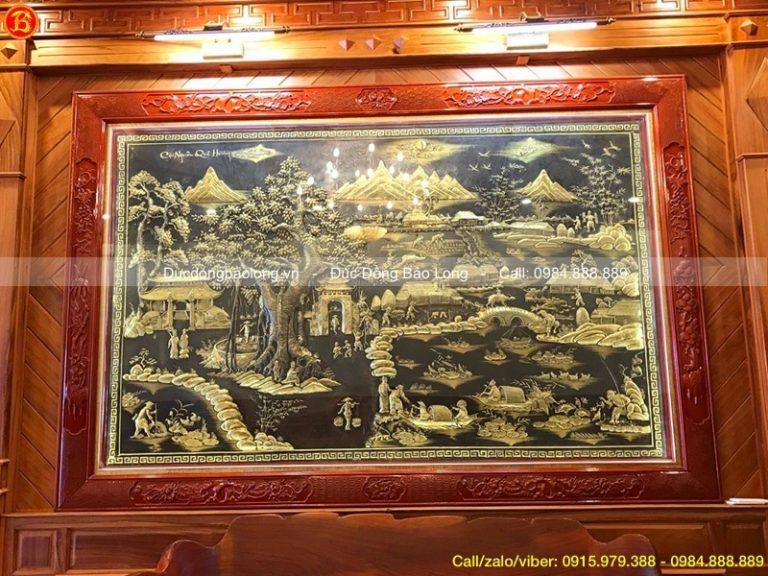 mua tranh đồng tại Ninh Bình