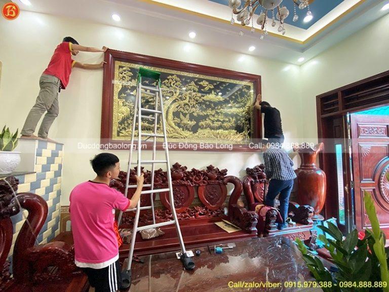 Mua tranh đồng tại Quảng Ninh