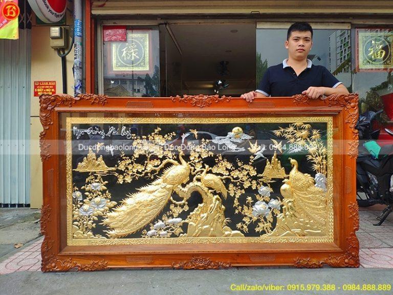 mua tranh đồng tại Sơn La
