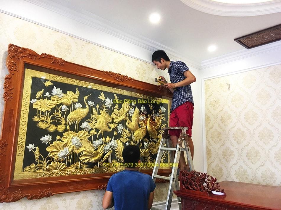 Mua tranh đồng tại Trà Vinh