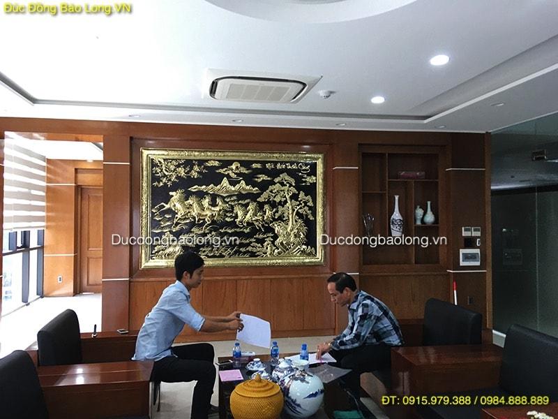 mua tranh đồng tại Vĩnh Phúc