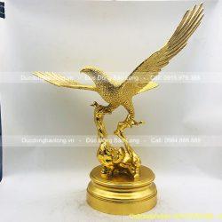 giá tượng chim đại bàng bằng đồng