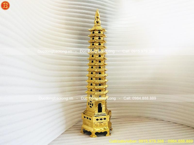 tháp văn xương mạ vàng