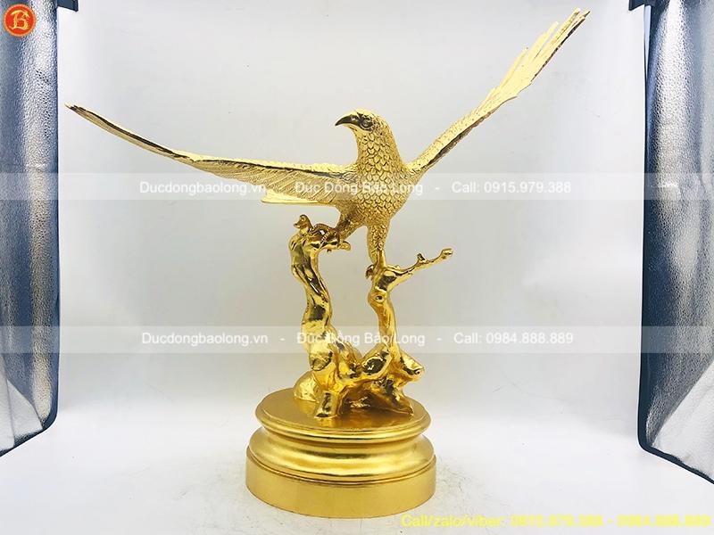 tượng đại bàng bằng đồng