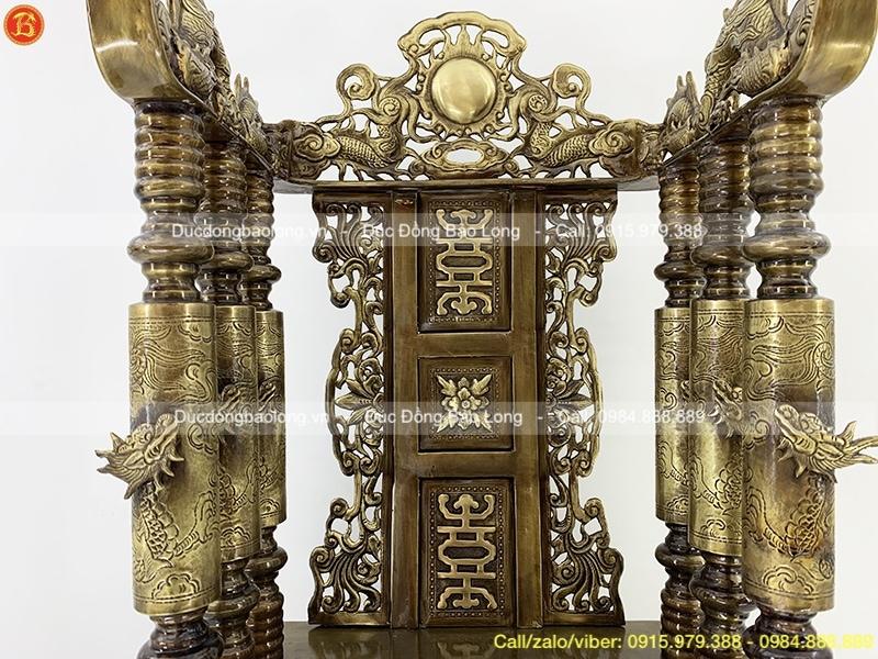 bán ngai thờ bằng đồng 81cm