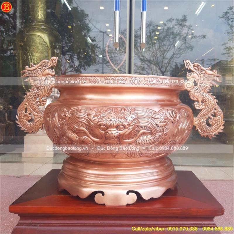 Bát Hương Tai Rồng thờ cúng ĐK 39cm