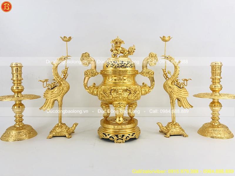 bộ ngũ sự dát vàng