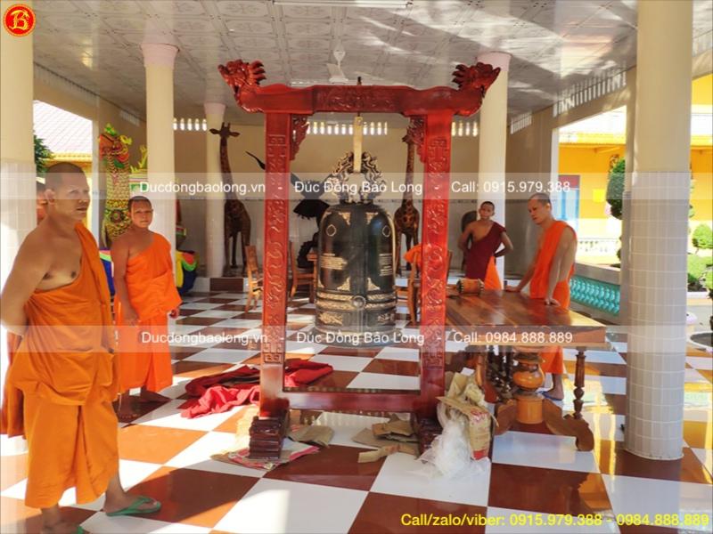 Chuông Đồng 300kg dùng cho Đền Chùa