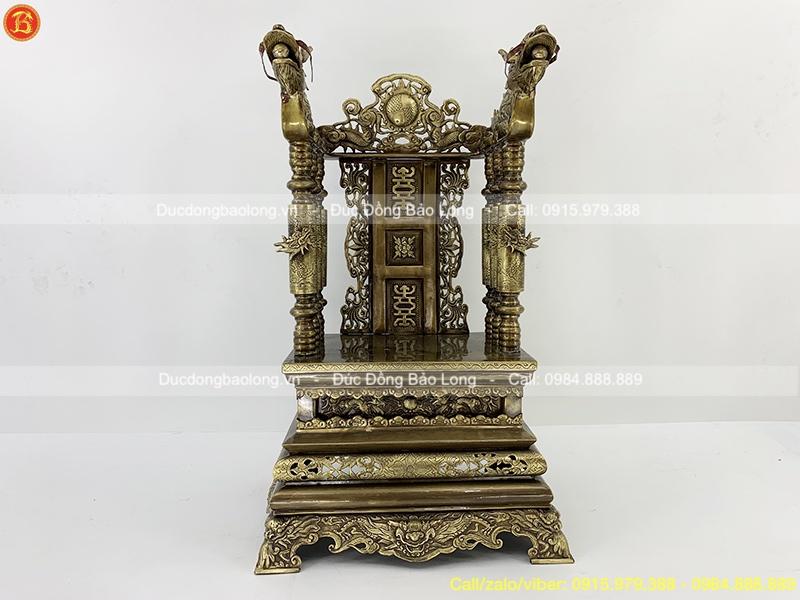 ngai thờ bằng đồng 68cm