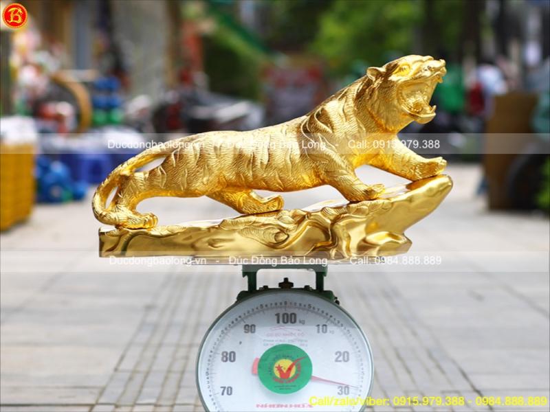tượng con hổ dài 61cm