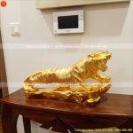 tượng con hổ dát vàng