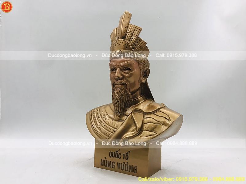 tượng vua hùng 36cm