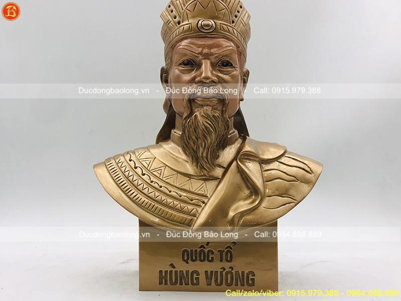 tượng vua hùng đẹp.