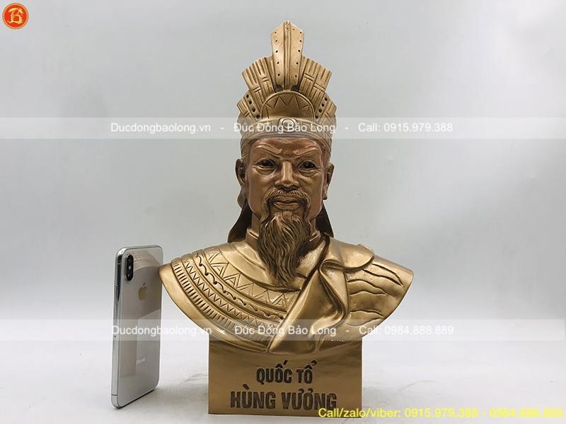 tượng vua hùng vương