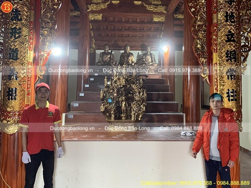 đúc tượng phật cho chùa