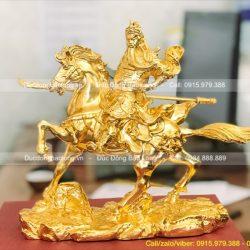 tượng quan công cưỡi ngựa nhỏ