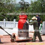 Quả Chuông Đồng 500kg, Lư Hương Đồng cho Chùa Trúc Lâm