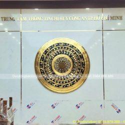 Treo Mặt Trống Đồng 1m8 Mạ Vàng Cho Khách Tại TP Hồ Chí Minh