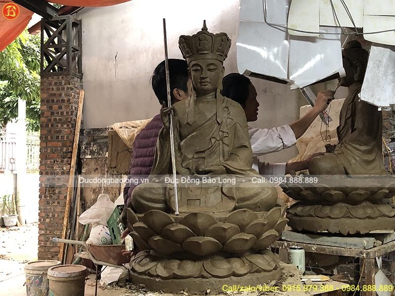mẫu tượng địa tạng bồ tát