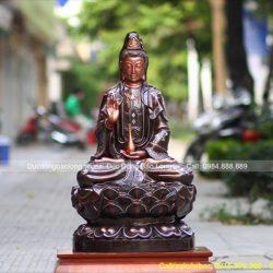 Thờ Tượng Phật Bà Quan Âm trong nhà