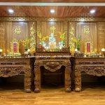 Thờ tượng Phật trong nhà đem lại Bình An gia đạo