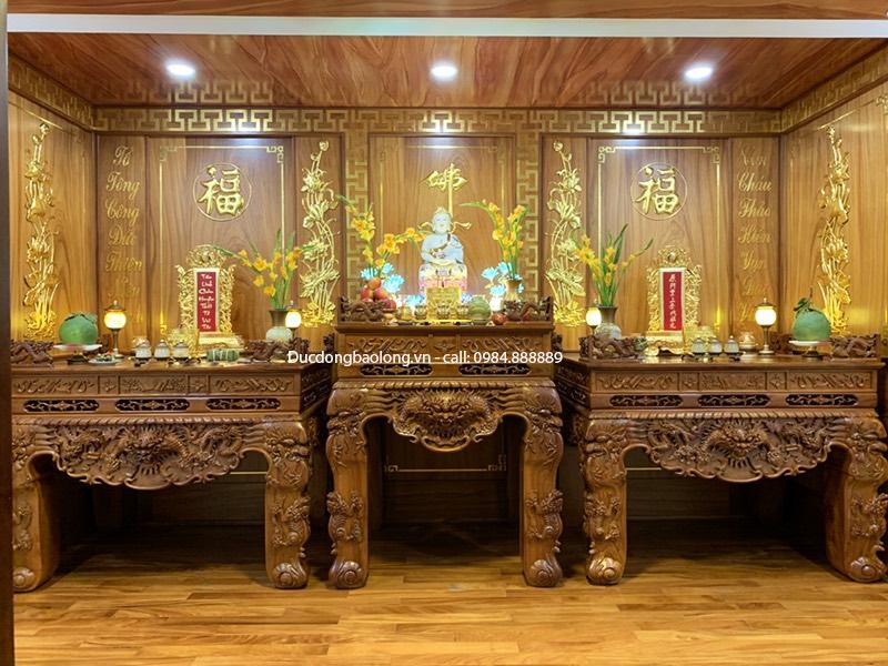 thờ tượng phật trong nhà