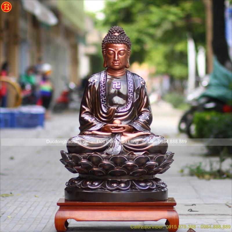 Tượng Phật Thích Ca Ngồi cao 89cm